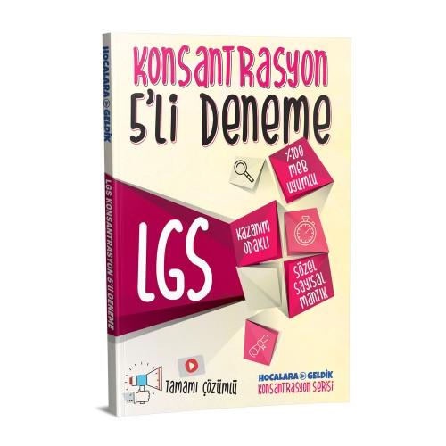 LGS Konsantrasyon 5'li Deneme