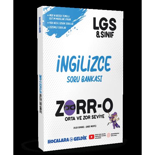 ZORR-O 8. Sınıf LGS İngilizce Soru Bankası