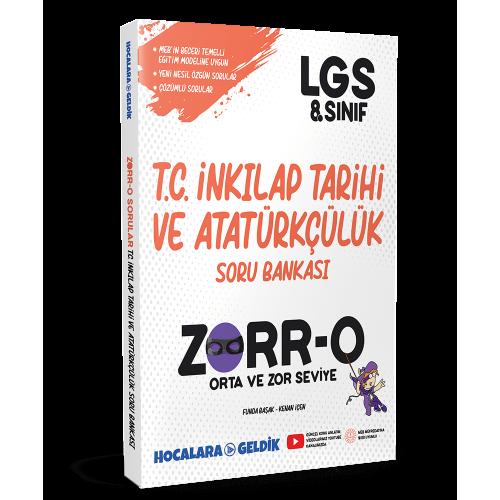 ZORR-O 8. Sınıf LGS İnkılap Soru Bankası