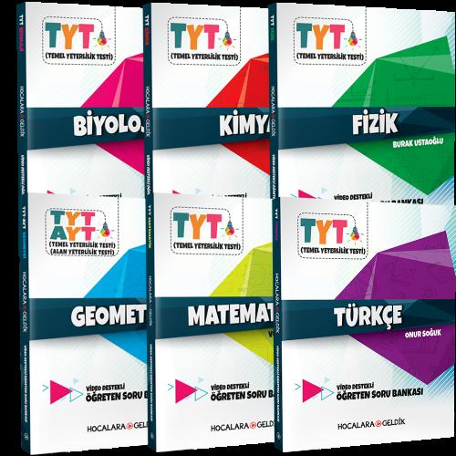 TYT Hocalara Geldik Sayısal Soru Bankası Seti 6 Kitap