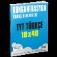 TYT Türkçe - Konsantrasyon Branş Denemeleri