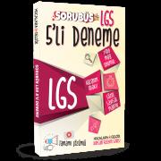 LGS Sorubüs 5'li Deneme ve 3'lü Soru Bankası Seti