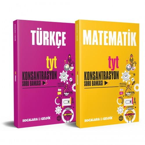 TYT 2022 Hazırlık Seti - Türkçe & Matematik Soru Bankaları