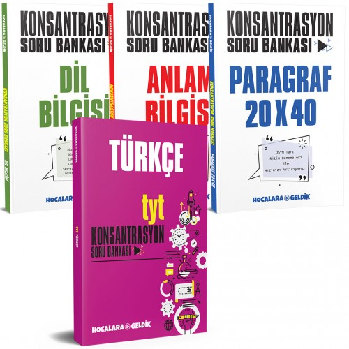 TYT Türkçe Set - 4 Kitap