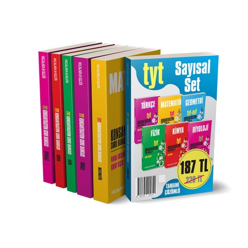 TYT Sayısal Set - 6 Kitap