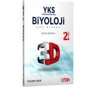 AYT (YKS) 3D Biyoloji 2. Oturum Soru Bankası