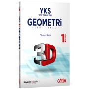 TYT (YKS) 3D Geometri 1. Oturum Soru Bankası