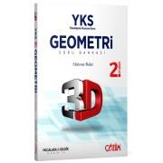 AYT (YKS) 3D Geometri 2. Oturum Soru Bankası