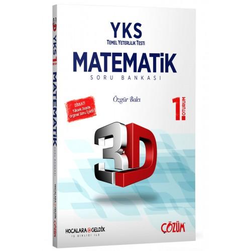 TYT (YKS) 3D Matematik 1. Oturum Soru Bankası