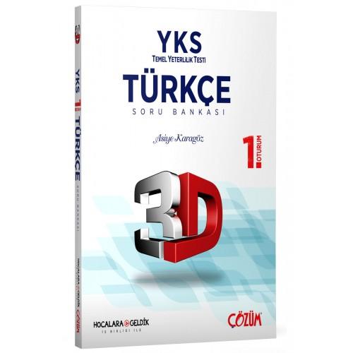 TYT (YKS) 3D Türkçe 1. Oturum Soru Bankası