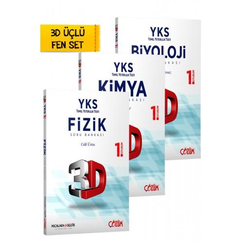 TYT (YKS) 3D 3'lü Fen Set
