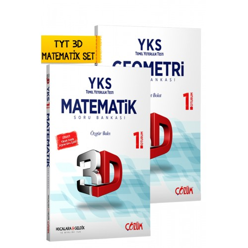 TYT (YKS) 3D Matematik Set