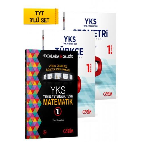 TYT (YKS) HG - Çözüm 3'Lü Set
